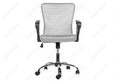 Офисное кресло Люкс (Luxe) серое