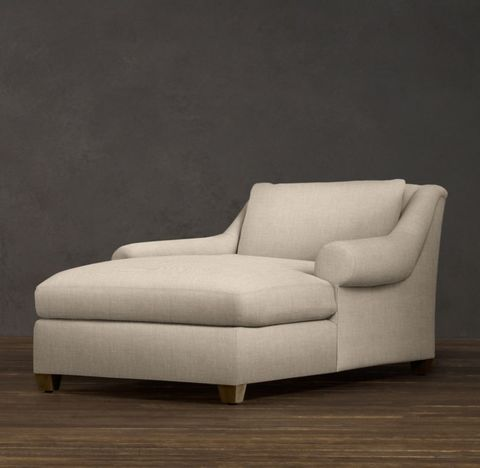 Belgian Roll Arm Chaise