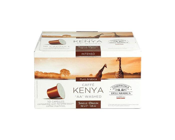 Кофе в капсулах Compagnia Dell'Arabica Kenya, 10 капсул (Компания Дель Арабика)