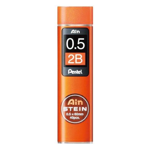Грифели 0,5 мм Pentel Ain Stein 2B