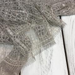 Кружевное полотно Sophie Hallette - Mauve/Coquille