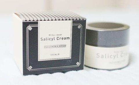 Крем для лица на основе салициловой кислоты с эффектом пилинга Sesalo Face Control System Salicyl Cream Elizavecca
