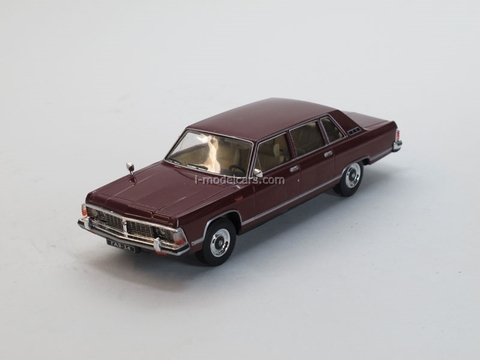 GAZ-14 Chaika dark red 1:43 Nash Avtoprom
