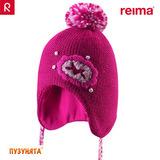 Шапочка Reima Hallava 518324-4830 berry pink