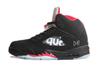 Air Jordan 5 Retro x Supreme 'Black/Fire Red'