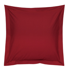 Наволочка 50х73 Blanc des Vosges Uni Rouge