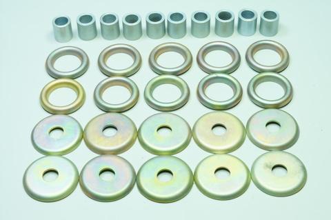 Крепежные элементы передней балки Газ 12, M20, 21