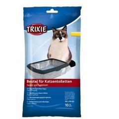 Trixie Пакеты уборочные для кошачьих туалетов XL 10 шт. в упаковке 56х71 см