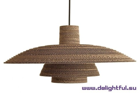 design cardboard light Gray 17-39 ( by Delightful )