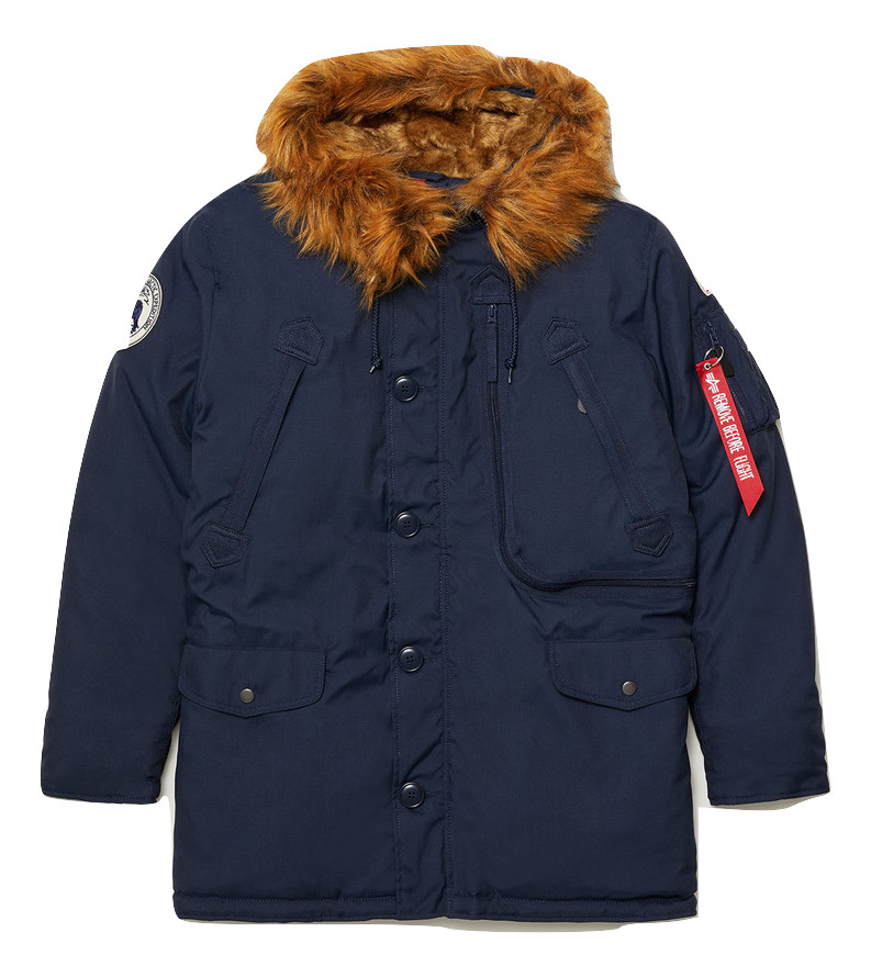 парка Alpha Industries N-3B Alpine Parka Rep. blue