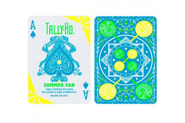 Игральные карты Tally-Ho Summer Fan