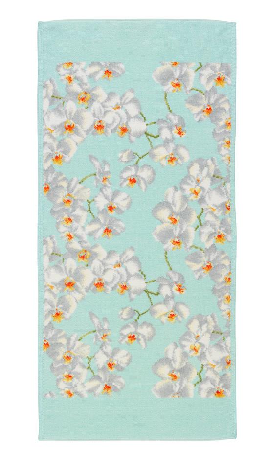 Полотенце 37x80 Feiler Orchidee 156 mint