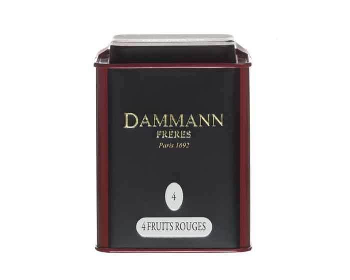 Чай черный Dammann Fruit Rouges, 100 г