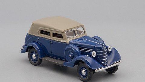 GAZ-61 1939-1945 1:43 DeAgostini Auto Legends USSR #269