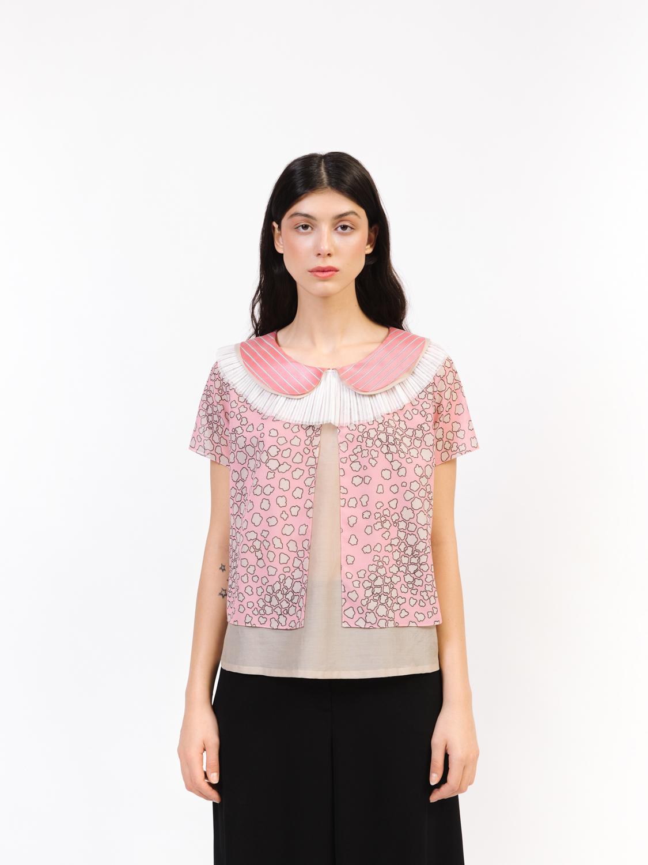 Блуза двухслойная