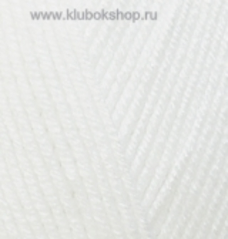 Пряжа Baby BEST Alize Белый 55