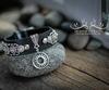 """Подвеска TierraCast """"Солнце"""" (цвет-античное серебро) 19 мм (Красивые браслеты. Пример)"""