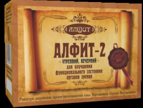 Фитосбор Алфит-2, для улучшения зрения, 60 ф/п*2г
