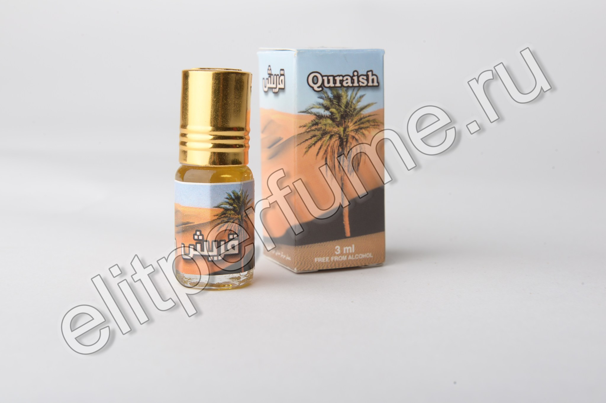 Quraish 3 мл арабские масляные духи от Захра Zahra Perfumes