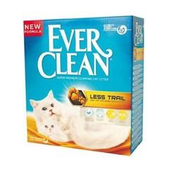 Ever Clean для длинношерстных пород Less Track крупные гранулы, желтая полоса 10кг