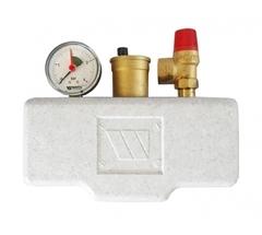 Группа безопасности котла Watts KSG 30/20M-ISO (с теплоизоляцией), 1