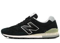Кроссовки Мужские New Balance 996 Black Suede White