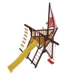 Детская деревянная игровая площадка Фортуна