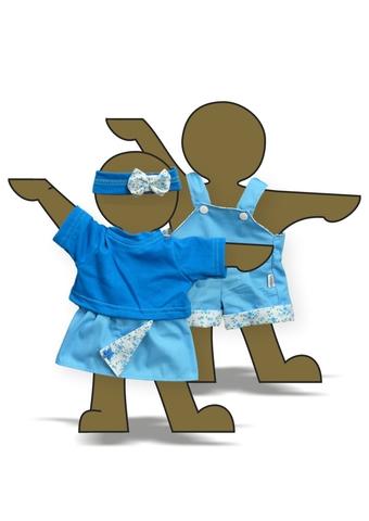 Летний комплект - Демонстрационный образец. Одежда для кукол, пупсов и мягких игрушек.