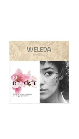 Weleda Подарочный набор «Be delicate» (Деликатный крем для душа 200 мл; Деликатный крем для рук 50 мл; Деликатный питательный крем 7мл)