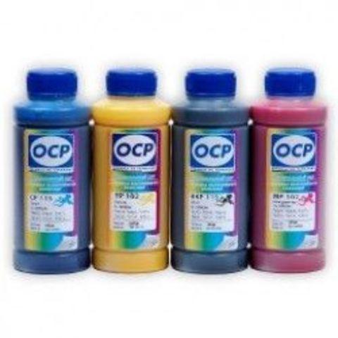 Комплект пигментных чернил OCP для картриджей HP 970/971. (OCP BKP260, CP260, MP260, YP260 - 4 х 100мл.) Для принтеров HP Officejet Pro x451dn, x551dw, x476dn, x576dw.