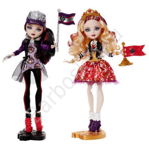 Набор кукол Рейвен Квин (Raven Queen) и Эппл Вайт (Apple White) - Дух школы (School Spirit)