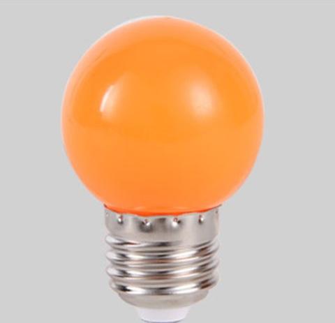 LED Лампа светодиодная Белт лайт оранжевая  E27