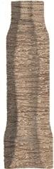 Угол внутренний Меранти пепельный светлый 8х2,4