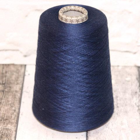 Шелк 100% FILATI BURATTI 2/120 синий