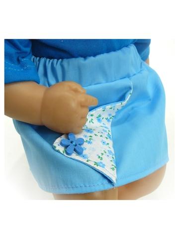 Летний комплект - Детали. Одежда для кукол, пупсов и мягких игрушек.