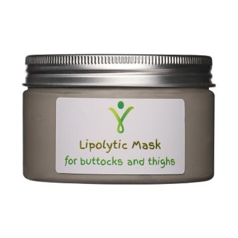 Липолитическая маска-обертывание с морским илом для ягодиц и бедер, 400 г