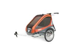Многофункциональная детская коляска, Thule, Chariot Captain2, 2-мест + ПОДАРОК