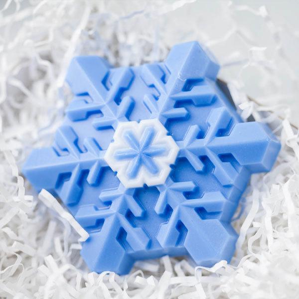 Форма для мыла Снежинка кристальная