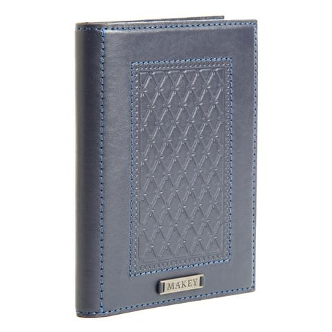 Обложка для паспорта «Монархия» синяя