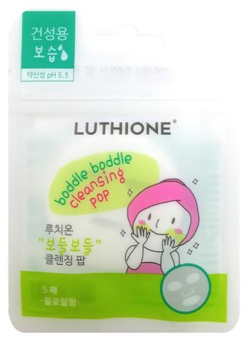 Luthione Пенка-таблетка для умывания (мягкая) 3г *5шт Boddle