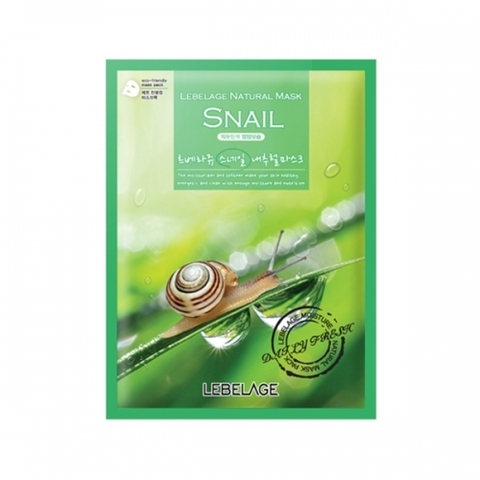 Маска LEBELAGE Snail Natural Mask 1 шт.