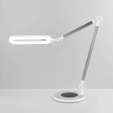 Светодиодная настольная лампа с сенсорным управлением 80420/1 серебристый