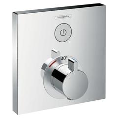 Смеситель встроенный термостат с запорным клапаном Hansgrohe ShowerSelect  15762000