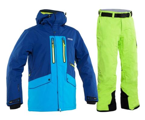 Горнолыжный костюм мужской 8848 Altitude Ledge/Base 67 (multi)