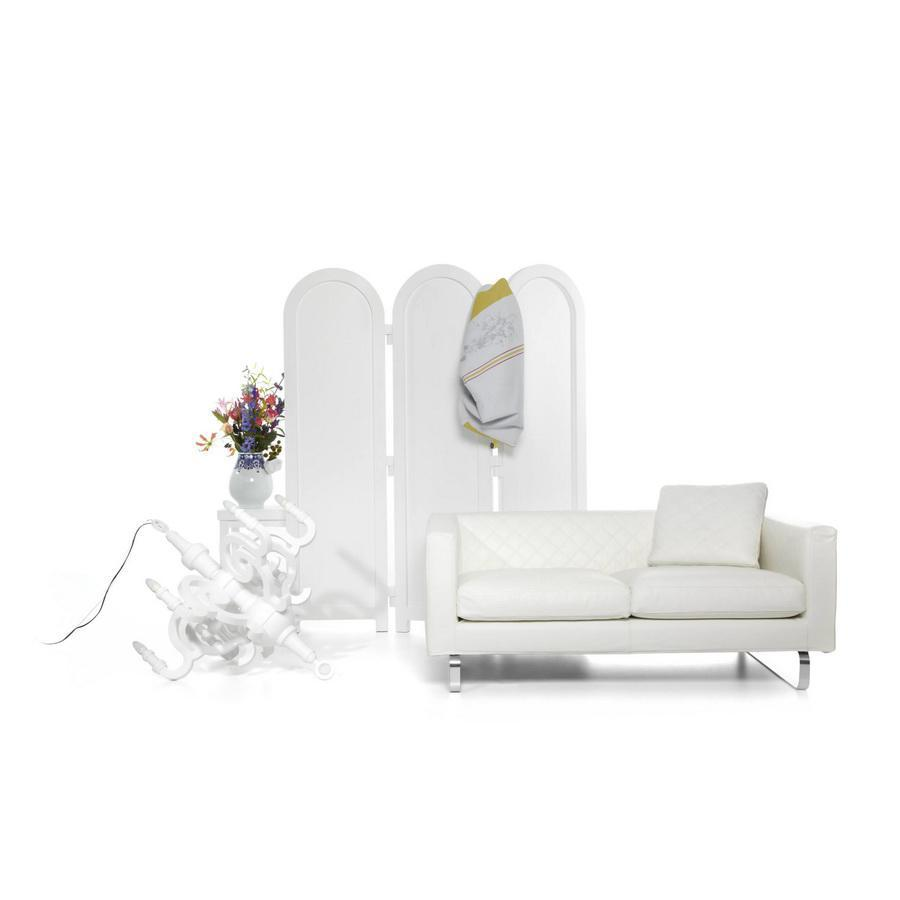 Moooi MOSBT2XNK-C22 + MOSBTPINK-C22 + MOSBT-LG-SK weiss — Диван Boutique 2-Sitzer Leather weiss