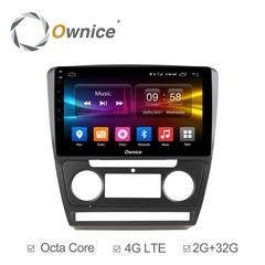 Штатная магнитола на Android 6.0 для Skoda Octavia 04-08 Ownice C500+ S1920P