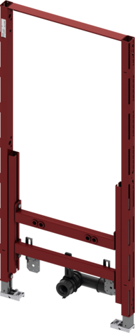 Модуль биде TECEprofil для застенного монтажа, монтажная высота 1120 мм (9330000)