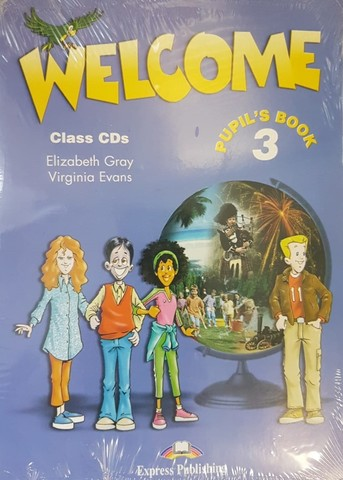 WELCOME 3 CL.CD (SET 3)