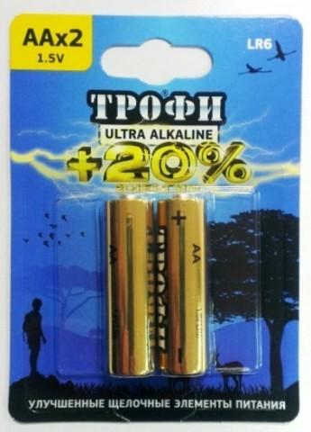 Элемент питания ТРОФИ LR6 Ultra к-т 2шт 1/20/160