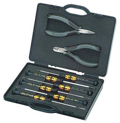 Набор инструментов для электроники 8 предметов Knipex KN-002018ESD